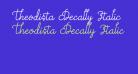 Theodista Decally Italic