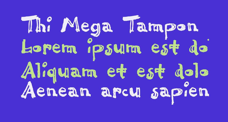 Thi Mega Tampon