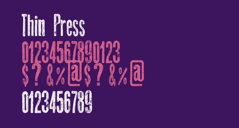 Thin Press