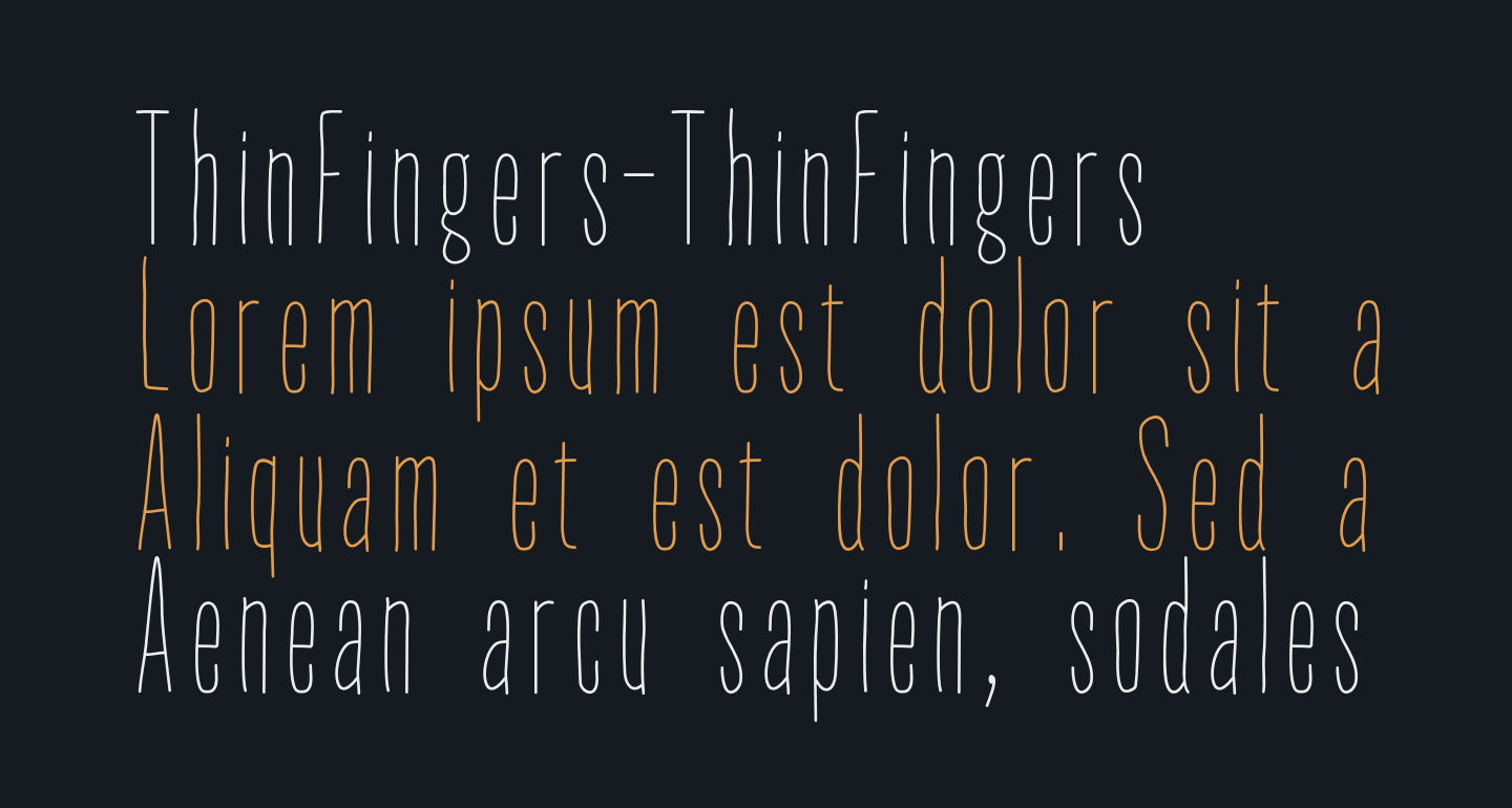 ThinFingers-ThinFingers