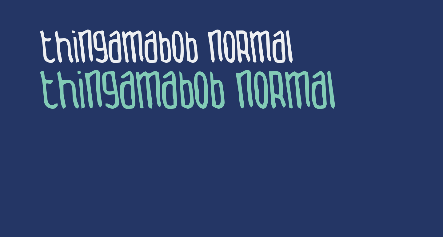 Thingamabob Normal