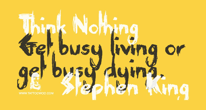 Think Nothing