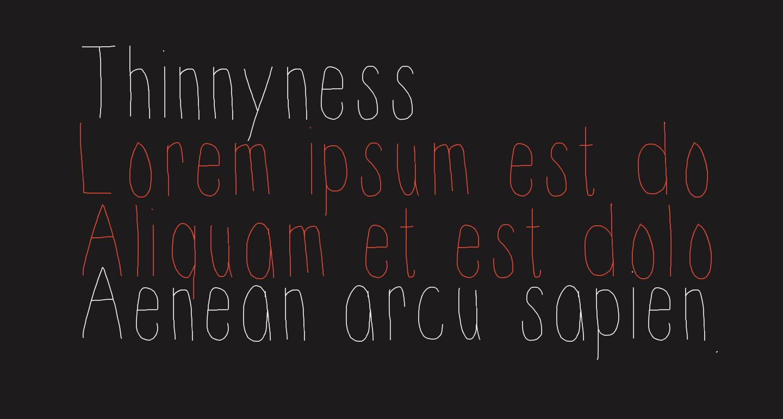 Thinnyness