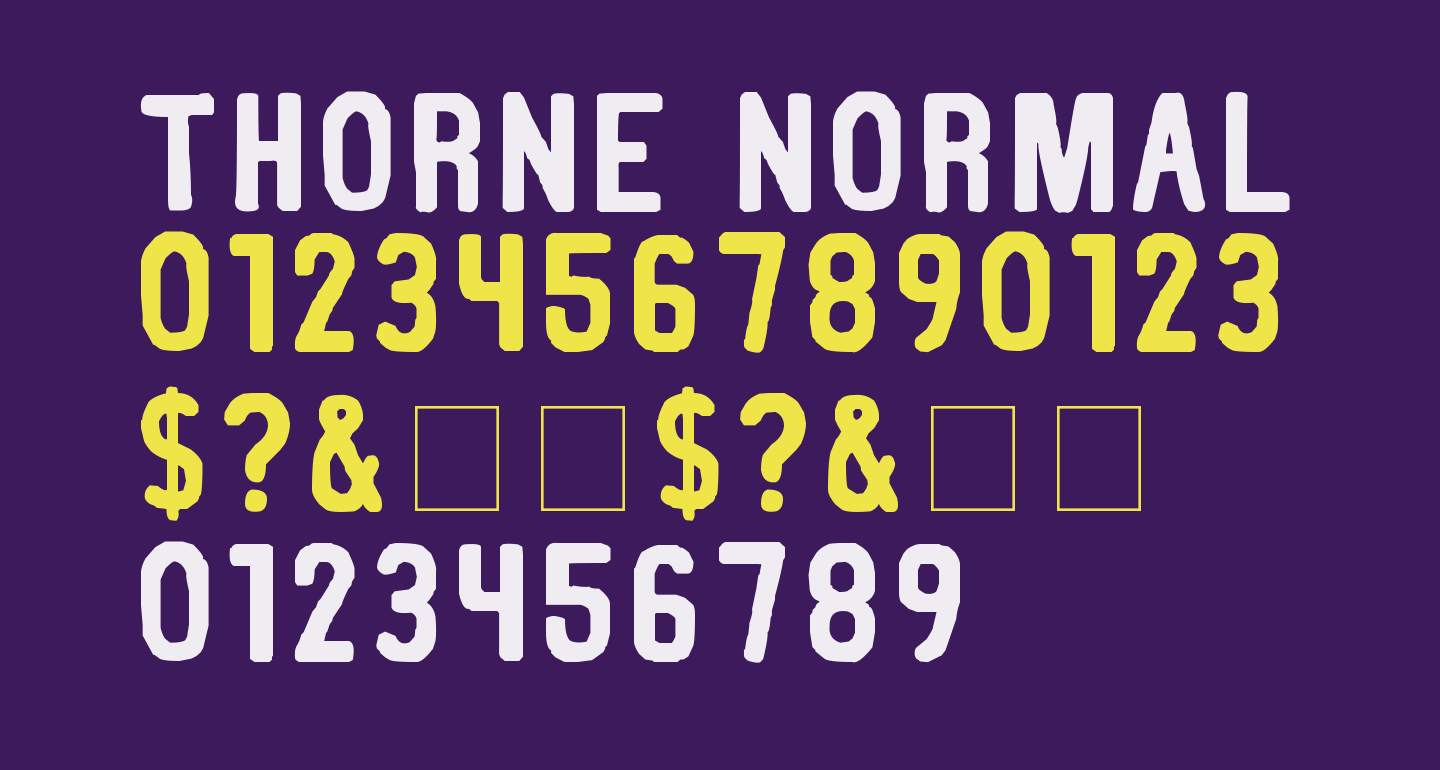 Thorne Normal