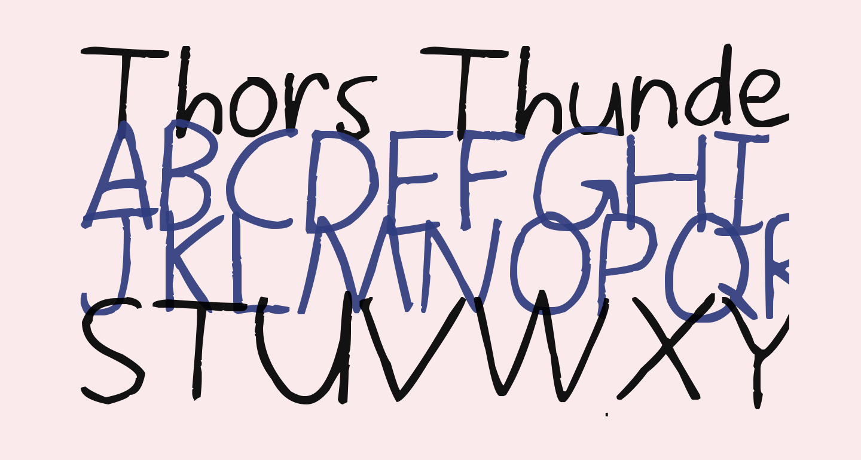 Thors Thunderfont