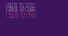 Throw-up Font