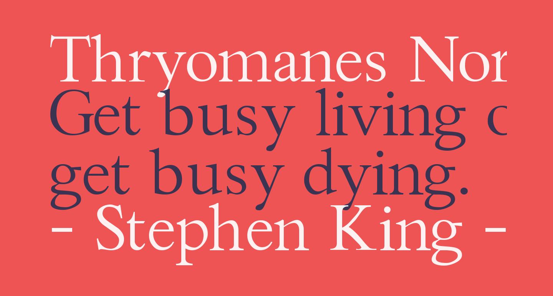 Thryomanes Normal