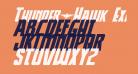 Thunder-Hawk Expanded Italic