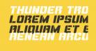 Thunder Trooper Expanded Italic