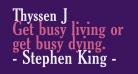 Thyssen J