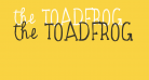 the TOADFROG