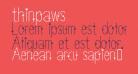 thinpaws