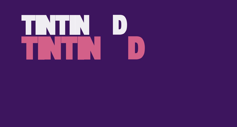 TINTIN 3D