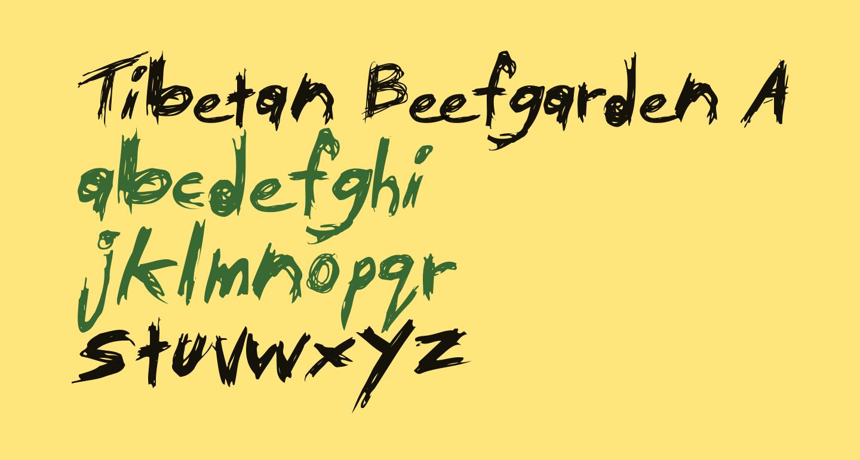 Tibetan Beefgarden AOE