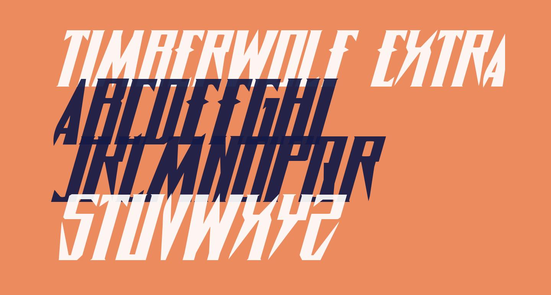 Timberwolf Extra-expanded Italic