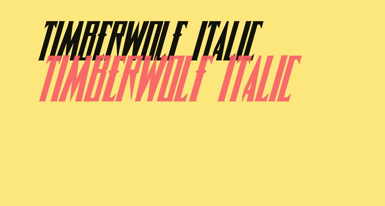 Timberwolf Italic