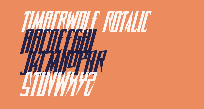 Timberwolf Rotalic