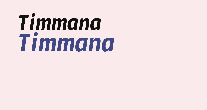 Timmana