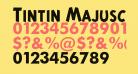 Tintin Majuscules   Bold