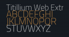 Titillium Web ExtraLight