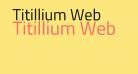 Titillium Web
