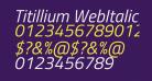 Titillium WebItalic
