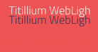Titillium WebLight