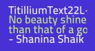 TitilliumText22L-600wt
