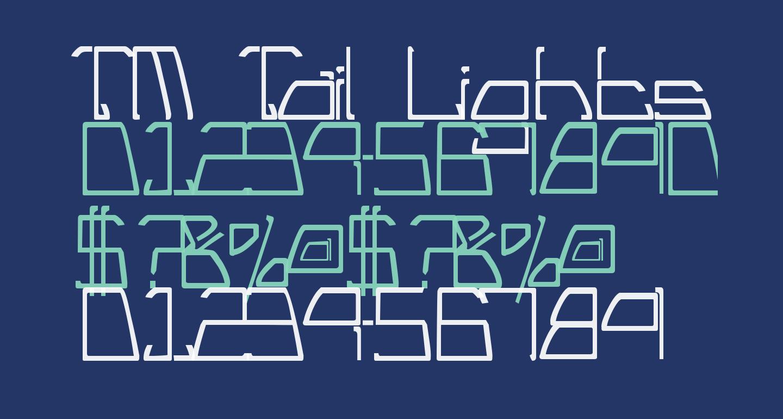 TM Tail Lights Normal