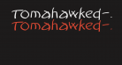 Tomahawked-Bold