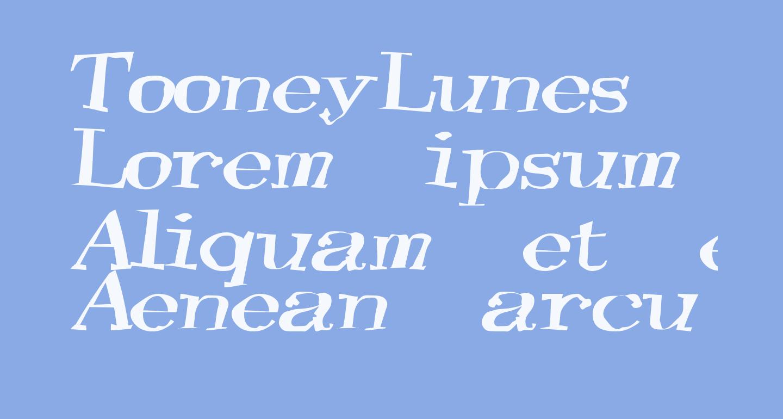 TooneyLunes Bold