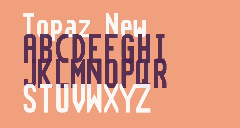 Topaz New
