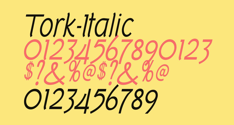 Tork-Italic