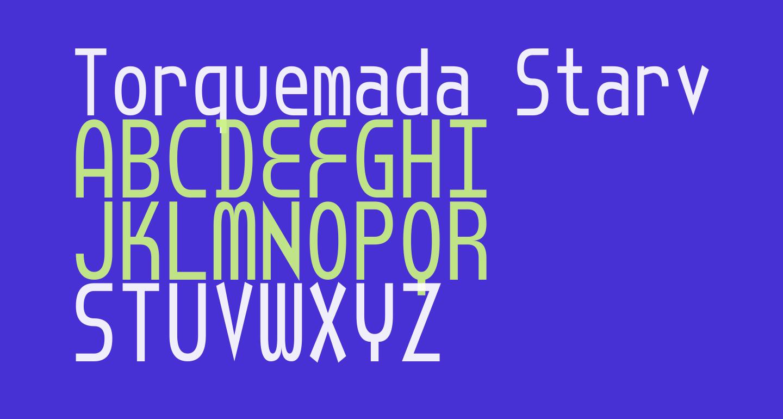 Torquemada Starved Unicode