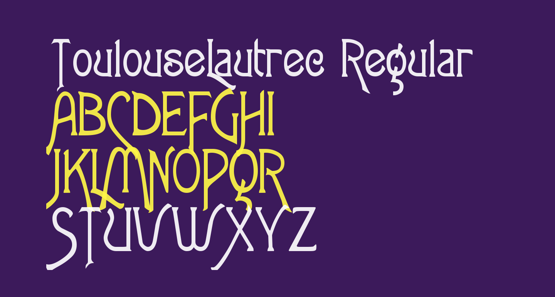 ToulouseLautrec Regular