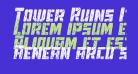 Tower Ruins Italic