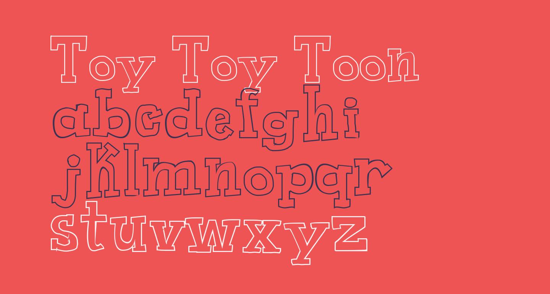 Toy Toy Toon