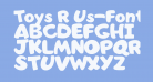 Toys R Us-Font Solid
