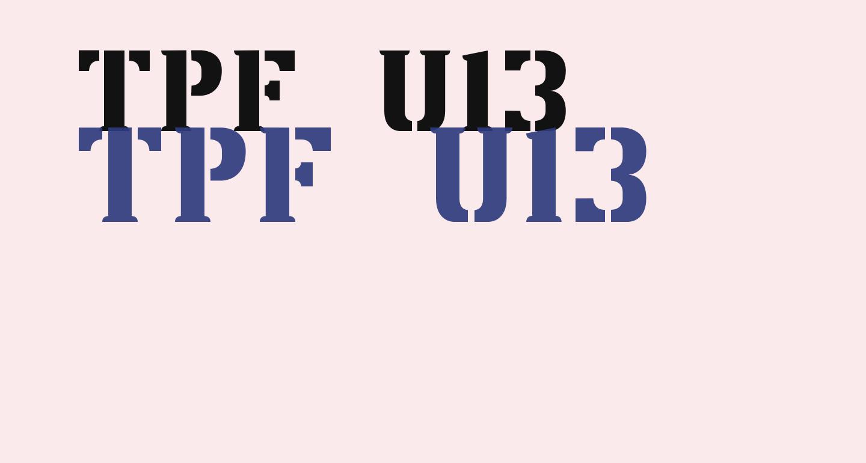 TPF U13