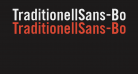 TraditionellSans-Bold