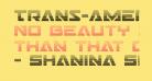 Trans-America Gradient