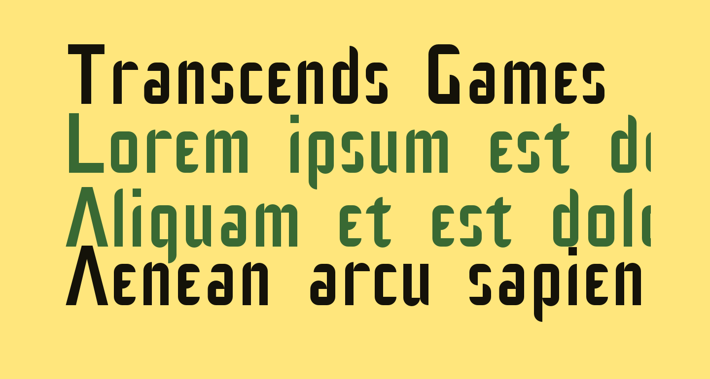 Transcends Games