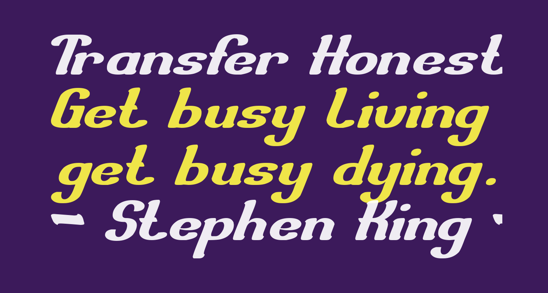 Transfer Honest