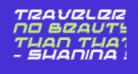 Traveler Pro Italic
