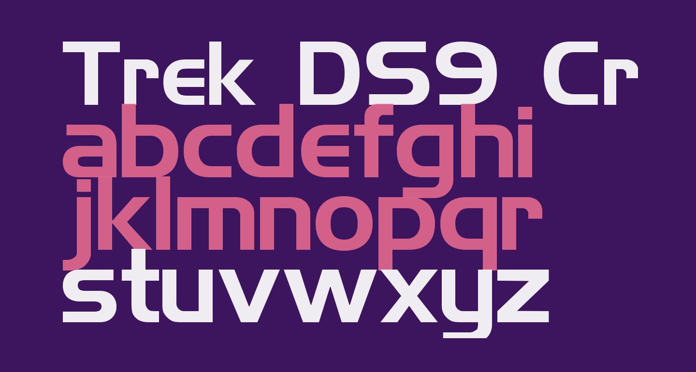 Trek DS9 Credits Text