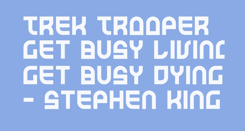 Trek Trooper