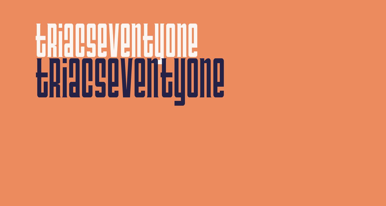 TriacSeventyone