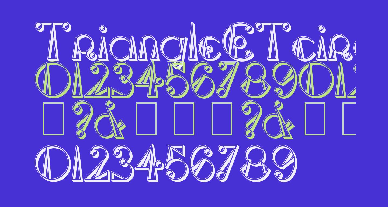 TriangleETcircle Shadowed