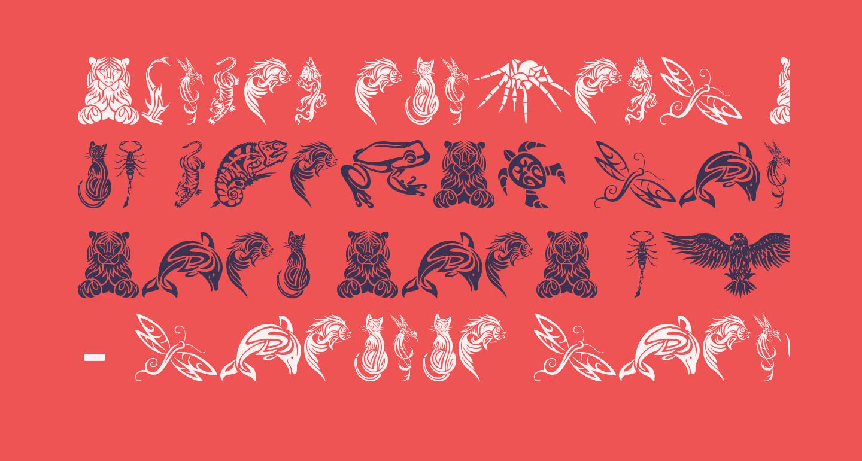 Tribal Animals Tattoo Designs