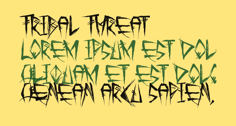 Tribal Threat